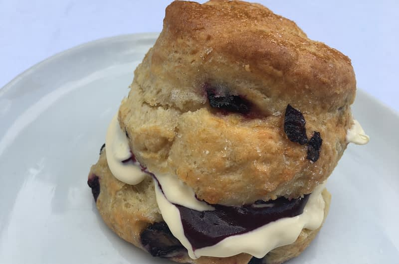 Blueberry and Lime Scones Recipe